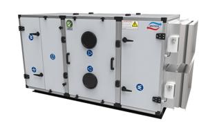 Приточно-вытяжная вентиляционная установка с роторным рекуператором тепла МВУ-3000